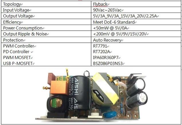 45W Adaptor