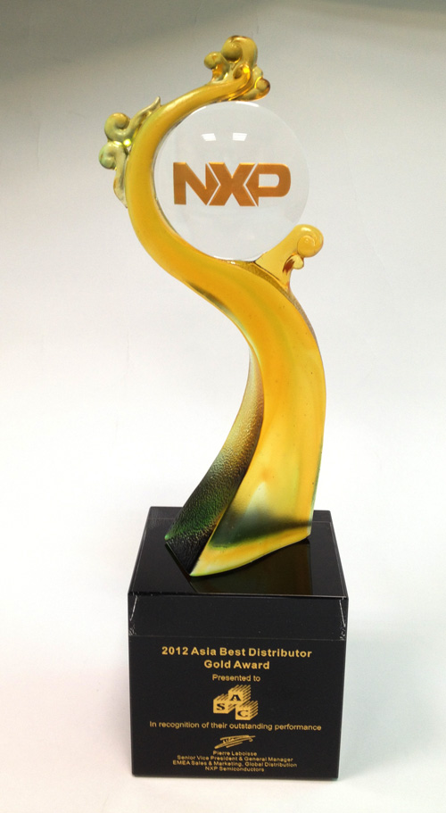 2012 Asia Best Distributor Gold Award