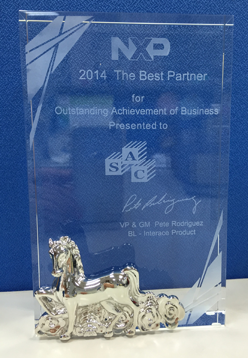 2014 The Best Partner for Outstanding Achievement of Business