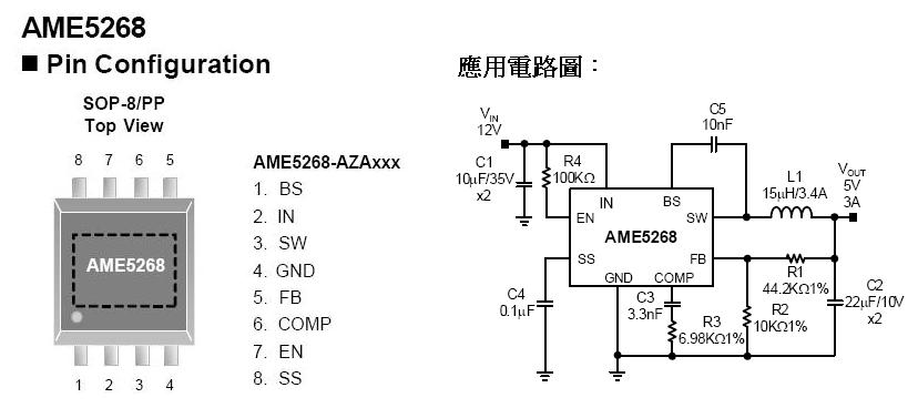 AME- DC-DC BUCK Converter- AME5268