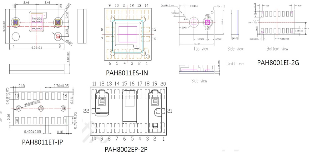 PAH8001/PAH8002/PAH8011ES/PAH8011ET