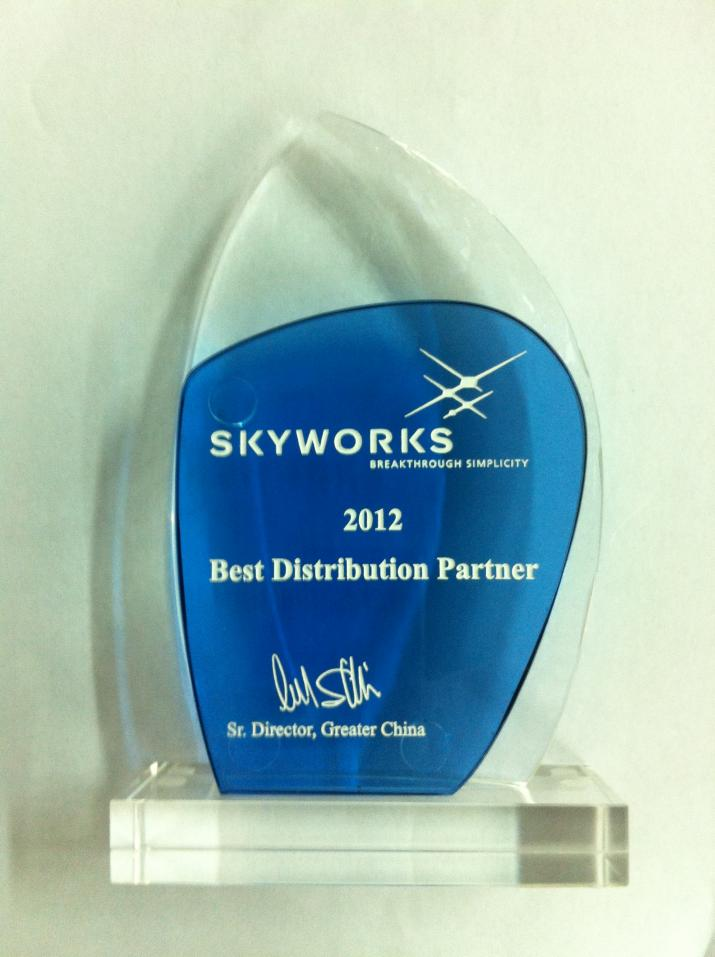 2012 Best Distribution Partner
