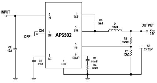 DIODES AP6502