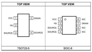 MPS MP174 非隔离700V 脱机式调整器, 400mA 输出电流