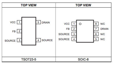 MPS MP174 非隔離700V 離線式調整器, 400mA 輸出電流