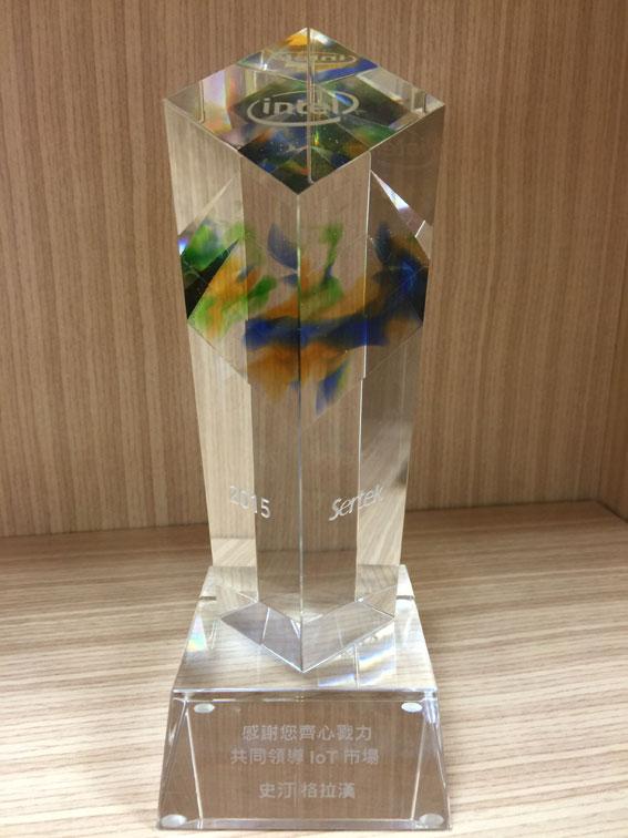 共同領導IOT市場獎