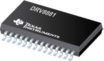DRV8881 2.5A 双路H 桥电机驱动器