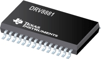 DRV8881 2.5A 雙路H 橋電機驅動器