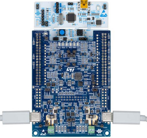 STM32 Nucleo pack for USB Type-C™ and Power Delivery