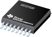 4-A, 6-A, 5.7-kVRMS Isolated Dual-Channel Gate Driver