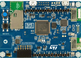Discovery kit for IoT node, multi-channel communication with STM32L4