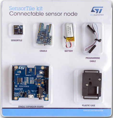 SensorTile development kit