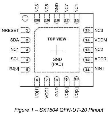 SX1504~06 (GPIO 4/8/16 channel)