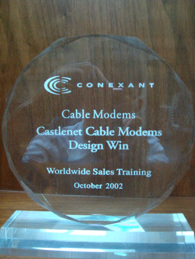 Castlenet Cable Modems Design Win