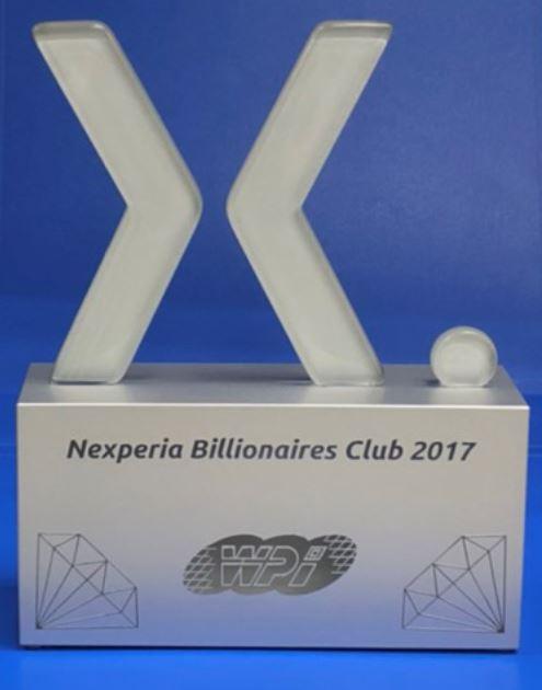 Nexperia Billionaires Club 2017