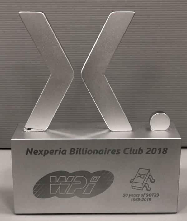 Nexperia Billionaires Club 2018