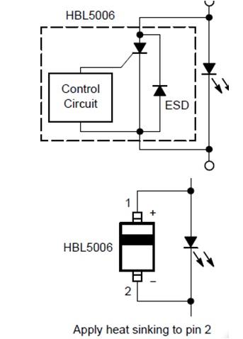 HBL5006 汽車LED分流器