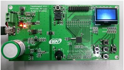 WPIg-Consumer-GasDetector-ADI-ADuCM360-EVM