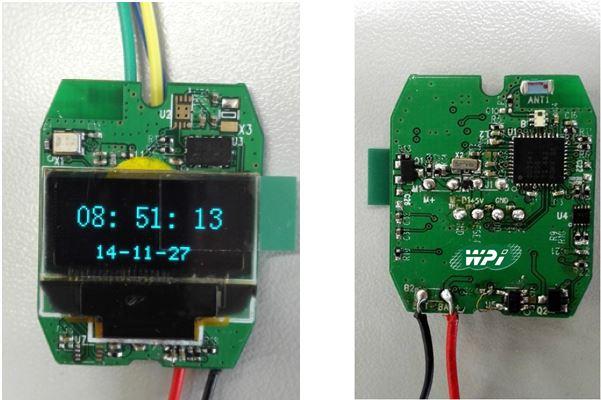 WPI-WEARALE-TI-CC2541-BT-SMART-WATCH-EVM