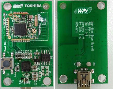 WPI-WEARALE-TOSHIBA-TC35667-BT-EVM