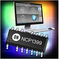 NCP1399 整合高壓驅動器的電流模式諧振控制器