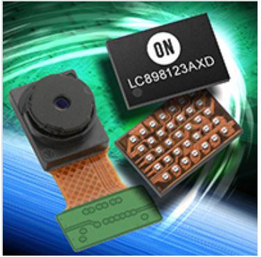 光学防抖(OIS)/自动对焦(AF)控制器及驱动器IC LC898123