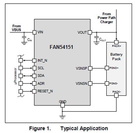 帶保護的高電流充電開關 FAN54151