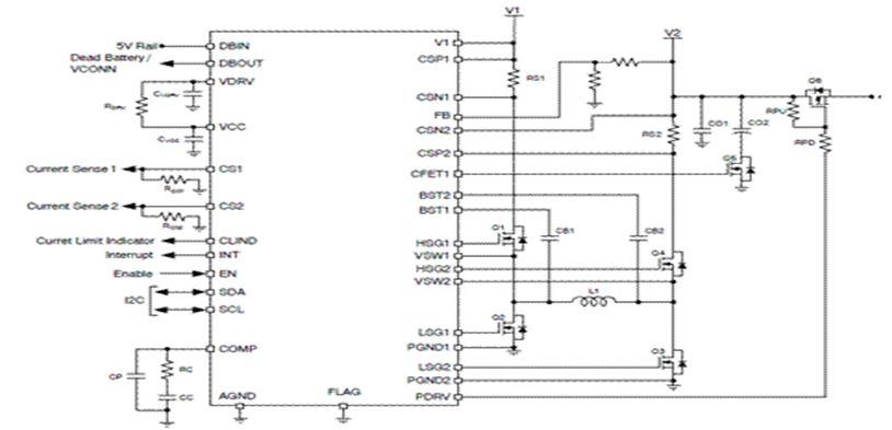 用於USB PD Type-C的四開關升降壓電源控制器 NCP81239