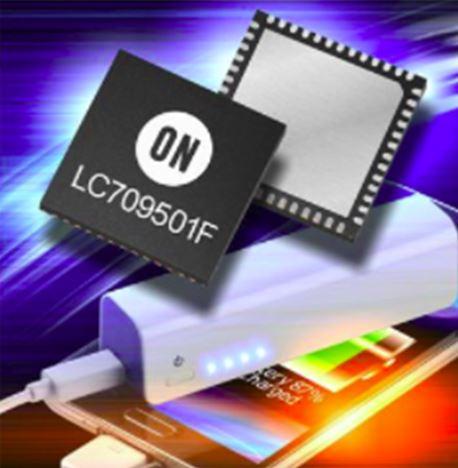 智慧充电控制器 LC709501F