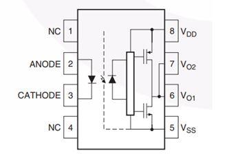 輸出電流為3A的高速MOSFET/IGBT柵極驅動光耦合器 FOD3184