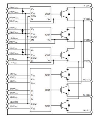 智能功率模組,600 V,40A FNB34060T