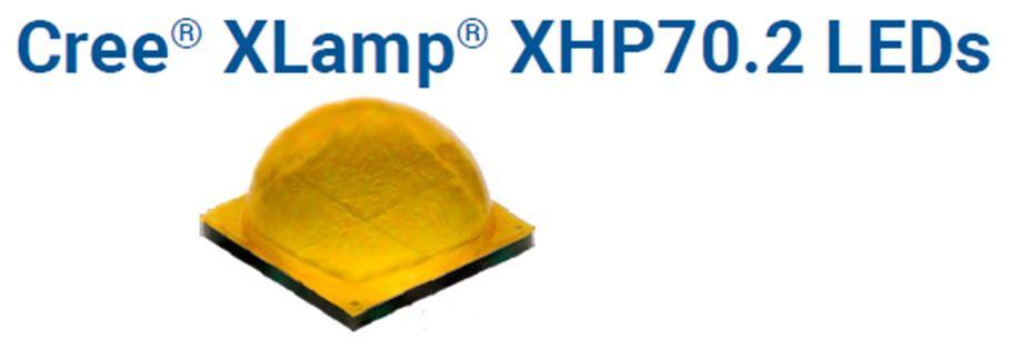CREE XLamp XHP70.2 XHP70B