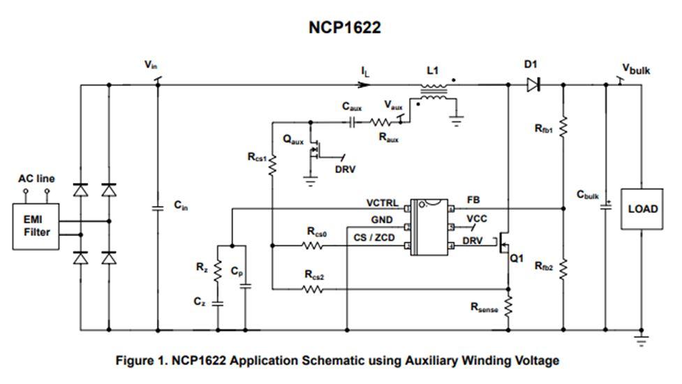 增強型,高效率功率因數控制器 NCP1622