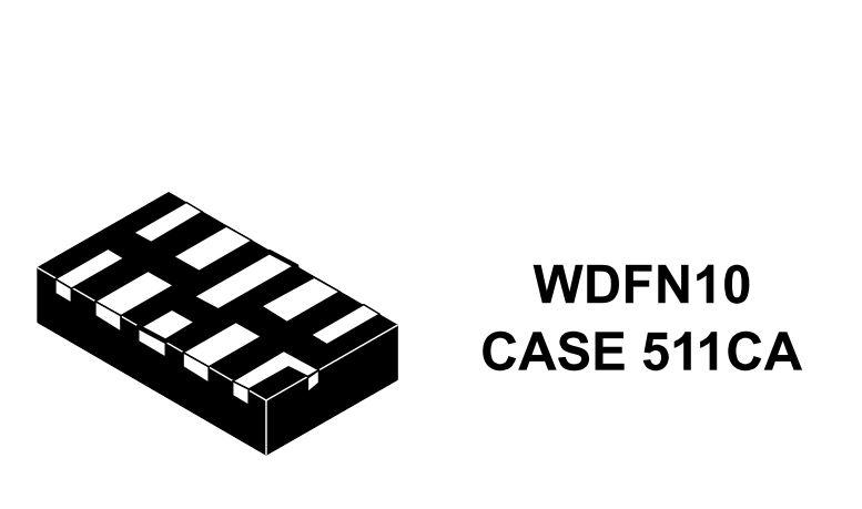 汽車高速數據線的低電容ESD保護 NIV2161
