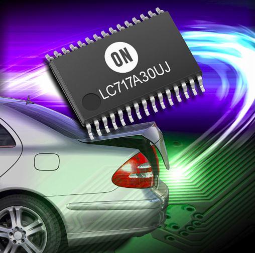 用于静电电容式触摸传感器的电容数字转换器 LC717A30UJ