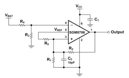 SGM8706硬體設計參考圖