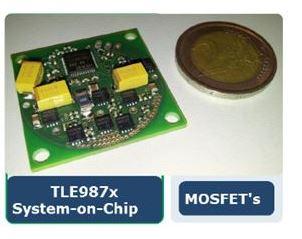 品佳集團推出 Infineon ePower 微處理器於汽車冷卻風扇控制應用