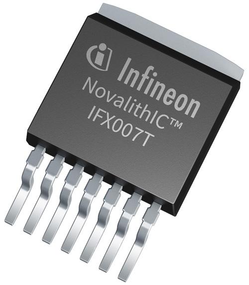 英飛凌NovalithIC™ IFX007T 是一款簡單易用,適用於工業與消費應用的高功率馬達驅動器
