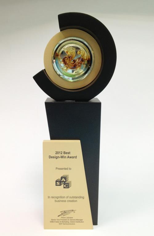 2012 Best Design-Win Award