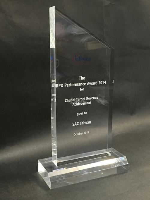 The RPD Performance Award 2014 for Zhuhai Target Revenue Achievement