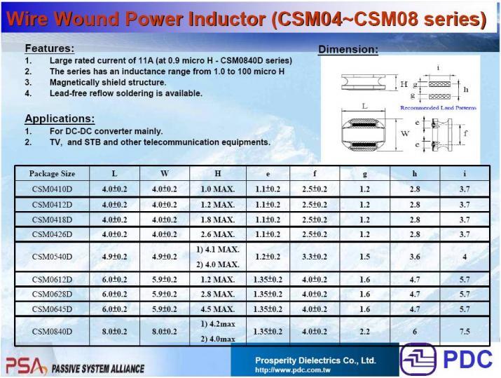 PDC-CSM0410D