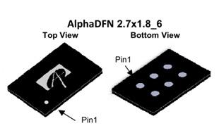 AOC3864 20V common Drain Dual N-Channel AlphMOS