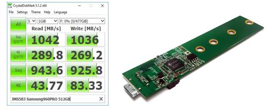 詮鼎推出JMicron全新超高速外接式存儲解決方案 – JMS583