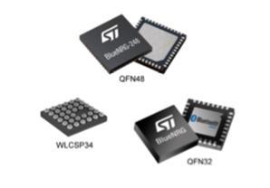 意法半導體(ST) BLUENRG-2 (超低功耗藍牙) 晶片