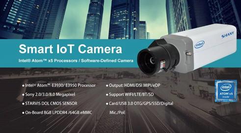 友尚推出intel邊緣計算的智慧相機,可用於智慧城市與物聯網應用